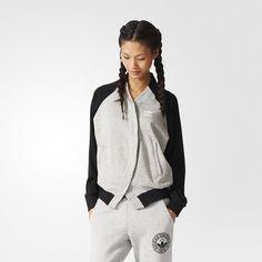 adidas Couture Track Jacket - Grey | adidas US