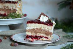 Preiselbeer-Nougat-Torte