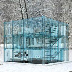 vetro architettura casa