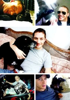 Infinite List of Tom Hardy's Perfect Qualities ➾ His love for Max.