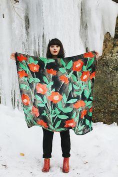 Leah Goren, F/W 2014: Scarves Collection
