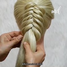 Amazing Braid method try for you, How do you do different types of braids? What culture wore braids first? If you think you can't manage to braid, then you should try this method! # types of Braids Easy Hairstyles For Long Hair, Braids For Long Hair, Braided Hairstyles, Braids Easy, Rock Hairstyles, Cool Braids, Hair Upstyles, Types Of Braids, Natural Hair Styles