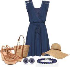 """Ready for Summer"" by lovelyingreen ❤ liked on Polyvore"