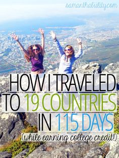 How I traveled to 19 countries in 115 days with semester at sea! This one of a kind study abroad program was a great college experience! It's affordable and amazing!