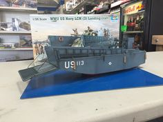 Building the Trumpeter 1/35 LCM 3 Landing craft