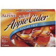Alpine Pumpkin Cider Spiced Cider Instant Drink Mix, 0.74 oz, 10 ct