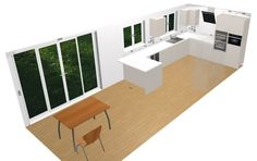 Design Ideas for Large Kitchen Spaces. Use the Free 3D Kitchen Planner and Create Your Perfect Kitchen.