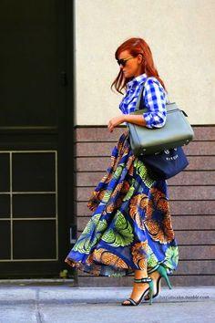 Mixing fabric | Geweldige rok waar je veel stof voor nodig hebt maar die verder (volgens mij) snel in elkaar zit