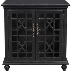 picture of Swansboro Black Accent Cabinet  from Accent Cabinets Furniture