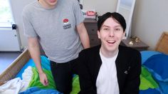 Phil with a middle part is all I have ever wanted in life