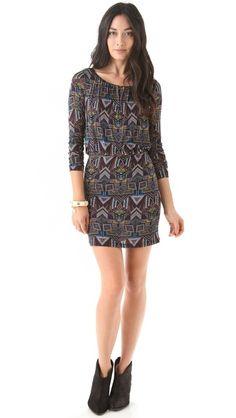 Velvet Oni Native Dress - want for fall