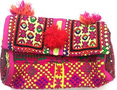 Vintage Banjara clutch gypsy clutch vintage mirror embroidery Indian tribal banjara clutch small handmade clutch on Etsy, US$ 79.00