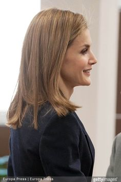 Queen Letizia of Spain attends a meeting with the Spanish Red Cross on April 7, 2015 in Madrid, Spain.