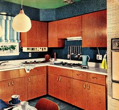 """Here Are Your Keys for Kitchen Color"""" """"Family Circle"""" November 1961"""