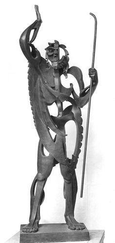 Pablo Gargallo, el Profeta, 1933.