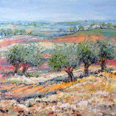 "Saatchi Art Artist Ine Louise Mourick; Painting, ""It's fantastic here !"" #art"