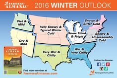 20142015 Winter Weather Forecast Map US 2015 winter Weather
