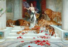 """Circe, 1889 Wright Barker (1864 - 1941) """