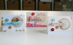 Cute card set by Gail Lindner