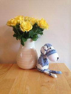 Amigurumi crochet dog. by Christinescraftbox on Etsy