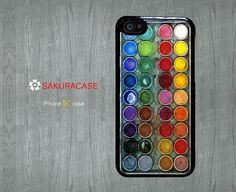 Water color paint set iPhone 5c case Watercolor paint box iPhone 5c case Painting box cover skin case for iphone 5c Hrad/Rubber case by sakuracase, $6.99