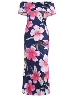 GET $50 NOW | Join RoseGal: Get YOUR $50 NOW!http://www.rosegal.com/maxi-dresses/off-the-shoulder-ruffle-floral-1094991.html?seid=n0vmtnj8f0a1aglda36lbicka6rg1094991