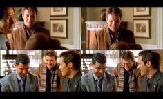 Nathan Fillion laughing,  as usual!