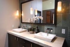 Huntington Beach Master Bath - contemporary - bathroom - orange county - Grace Blu Designs, Inc.
