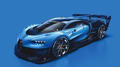 This is the Bugatti Vision Gran Turismo