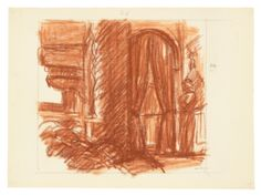 Edward Hopper (1882–1967), Study for New York Movie, 1938 or 1939. Fabricated chalk on paper, 11 1/8 × 15 in. (28.3 × 38.1 cm). Whitney Museum of American Art, New York; Josephine N. Hopper Bequest  70.277. © Heirs of Josephine N. Hopper, licensed by the Whitney Museum of American Art. Digital image © Whitney Museum of American Art