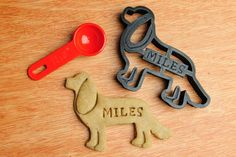 Cavalier King Charles Spaniel Cutter Custom Treat Personalized Pet by NameThatCookie on Etsy https://www.etsy.com/listing/179577094/cavalier-king-charles-spaniel-cutter