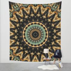 Buy Mandala black 2 Wall Tapestry by Christine baessler. Worldwide shipping available at Society6.com. Just one of millions of high quality products available.