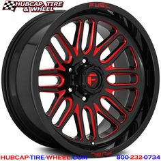 Fuel Blitz Gloss Black & Milled Wheels Set of 4 Rims And Tires, Wheels And Tires, Car Wheels, Mustang Wheels, Truck Rims, Rims For Trucks, Big Trucks, Off Road Wheels, Wheel And Tire Packages