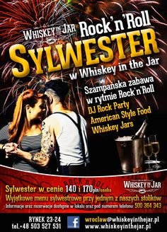 Sylwester w rytmie Rock'n'Rolla w Whiskey in the Jar Wrocław