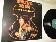 Nipso Brandner - Swing Is In SUISSE 1979 Lp near mint gypsy swing music