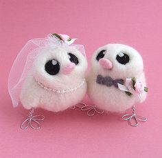 Only if i could get a really tall groom bird...and a thinner looking bride bird :|
