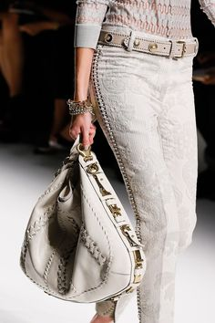 Salvatore Ferragamo Spring 2013 RTW - Details - Collections - Vogue - love these pants!