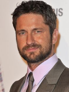 Gerard Butler eye-candy