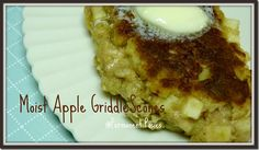 Apple Griddle Scones from @PermanentPosies