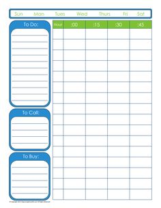Denní plánování - 9 plánovačů ke stažení Time Management, Bar Chart, Bar Graphs