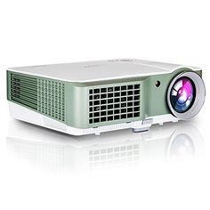 EUG Home Projector 2500 Lumens Movie Gaming Portable Projectors 1080P Home Theater Cinema Multimedia Digital Beamer for Indoor and Outdoor Entertainment Party and Friend Present ** Continue to the product at the image link.