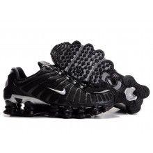 sale retailer 5fc33 0ba48 Nike Shox TL1 305463 002 black silver black