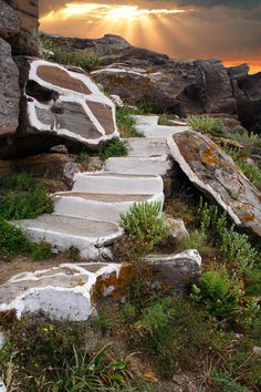 Stairway to heaven, Ios, Greece