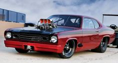 Blown 1973 Plymouth Duster by Prison City Customs