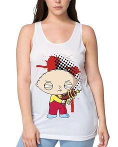 Stewie Griffin, Family Guy, Tank Tops, Animation, Instagram Posts, Clothing, Women, Products, Fashion