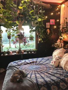 My bedroom☺️ : CozyPlaces Indie Bedroom, Indie Room Decor, Cute Room Decor, Aesthetic Room Decor, Hippie Bedroom Decor, Hippie Bedrooms, Neon Bedroom, Aesthetic Indie, Chill Room
