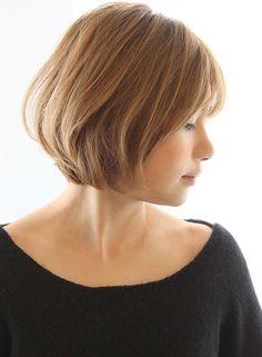 丸みが可愛いコンパクトショート|髪型・ヘアスタイル・ヘアカタログ|ビューティーナビ