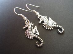 Seahorse Summer Beach Jewelry Accessories Sterling by CassieVision