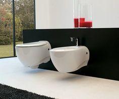 #Artceram #Blend wall mounted #toilet Bathroom Furniture, Toilet, Sweet Home, Sink, Bathtub, Vanity, Shower, Interior Design, Wall