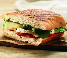 "This really isn't ""baked goods"" but Panera's website does have recipes. This is Panera Bread's turkey asiago sandwich. I love Panera Bread. Cooking Photos, Cooking Tips, Cooking Recipes, Copycat Recipes, Great Recipes, Favorite Recipes, Yummy Recipes, I Love Food, Good Food"